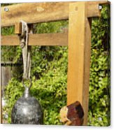 Peace Bell 2nd image   SOLD Acrylic Print