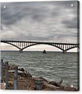 Peace Bridge Acrylic Print