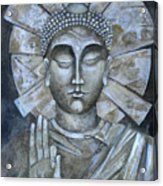 Peace Buddha Acrylic Print