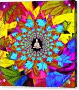Peace Buddha Meditation Acrylic Print