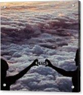 Peace - Digital Art Acrylic Print