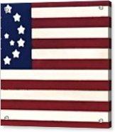 Peace Flag Acrylic Print