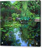 Peace Floods My Soul Acrylic Print