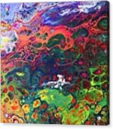 Peace Frog Acrylic Print