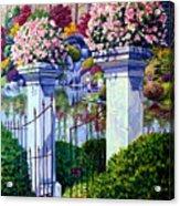 Peace In The Garden Acrylic Print