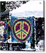 Peace In The Streets Acrylic Print