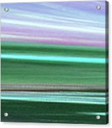 Peace Is Colorful 3 - Panoramic Acrylic Print