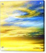 Peace Is Golden Acrylic Print