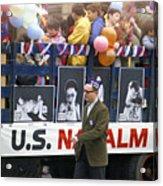 Peace March 1967 Acrylic Print