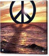 Peace On The Shoreline Acrylic Print