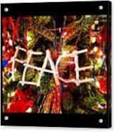 Peace Ornament Acrylic Print
