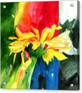 Peace Square Acrylic Print