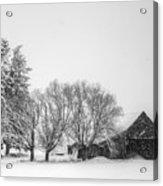Peaceful Barn Acrylic Print