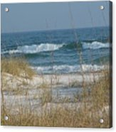 Peaceful  Beach Shoreline Acrylic Print