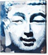 Peaceful Buddha 2- Art By Linda Woods Acrylic Print
