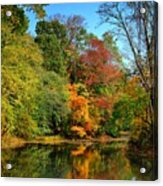 Peaceful Calm - Allaire State Park Acrylic Print