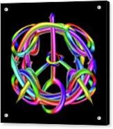 Peaceful Dicks  Acrylic Print