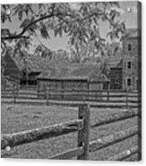 Peaceful Farm Acrylic Print
