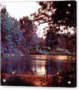 Peaceful In Infrared No1 Acrylic Print