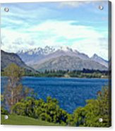 Peaceful Lake -- New Zealand Acrylic Print