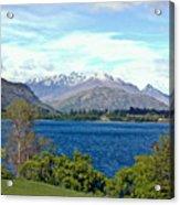 Peaceful Lake -- New Zealand Acrylic Print
