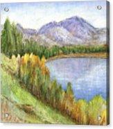 Peaceful Lake Acrylic Print