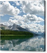 Peaceful Maligne Lake Acrylic Print