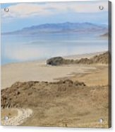 Peaceful Moments By The Salt Lake 4 Acrylic Print