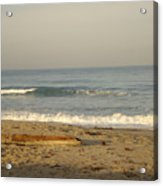 Peaceful Morning Beach Acrylic Print