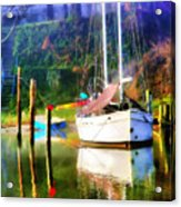 Peaceful Morning In The Cove Acrylic Print