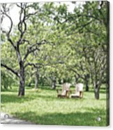 Peaceful Place To Rest Acrylic Print