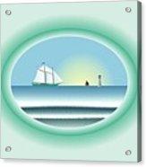 Peaceful Porthole Acrylic Print