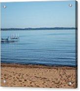 Grand Traverse Bay Beach-michigan  Acrylic Print