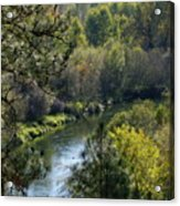 Peaceful River Acrylic Print