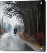 Peaceful Road Acrylic Print