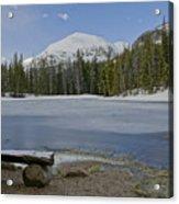 Peaceful Rocky Mountain National Park Acrylic Print