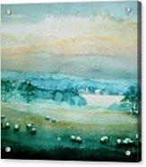 Peaceful Valley Acrylic Print