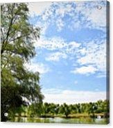 Peaceful View - Bradfield Park 18-37 Acrylic Print