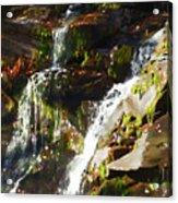 Peaceful Waterfall Acrylic Print