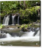 Peaceful Waterfall Acrylic Print