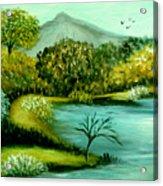 Peaceful  Waters 2 Acrylic Print