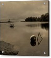 Peaceful Waters Acrylic Print