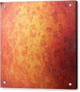 Peach Moon Acrylic Print