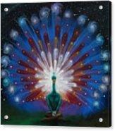 Peacocks Tale Acrylic Print