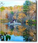 Peak Autumn Reflection 6 Acrylic Print