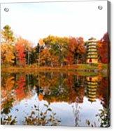 Peak Autumn Reflection 7 Acrylic Print