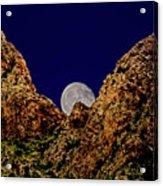 Peak Full Moon H03 Acrylic Print