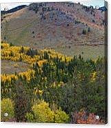 Peak To Peak Highway Boulder County Colorado Autumn View Acrylic Print