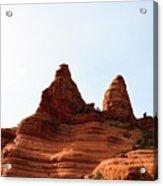 Peaks Of Sedona Acrylic Print