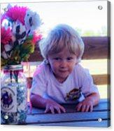 Peanut At 6th Anniversary Va Flaggers 4933 Acrylic Print